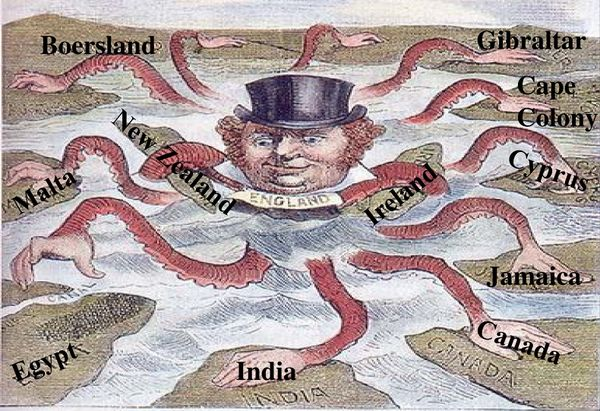 imperialism of britain and the united The role of imperialism: the united states looks beyond its borders in the history of the united states of america.